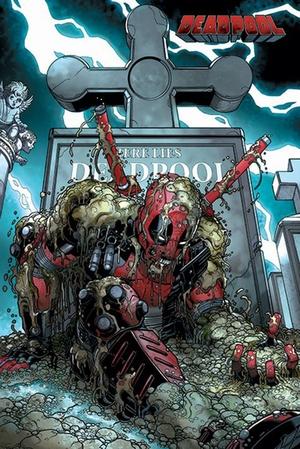 Deadpool Poster Grave