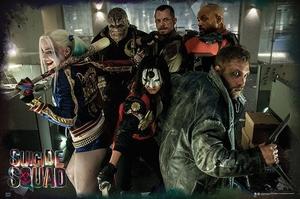 Suicide Squad Poster Team
