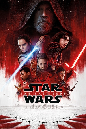 Star Wars Episode 8 Poster One Sheet (Hauptplakat)