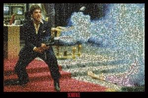 Scarface Poster Mosaik