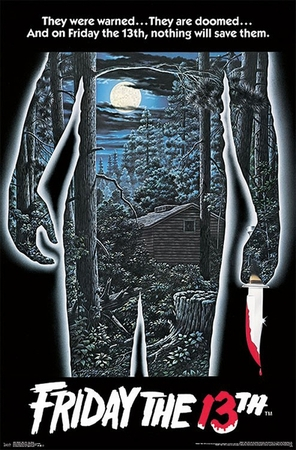 Friday the 13th Poster One Sheet