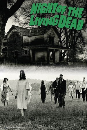 Night of the living Dead Poster One Sheet Zombies