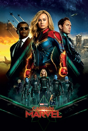 Captain Marvel Poster Epic