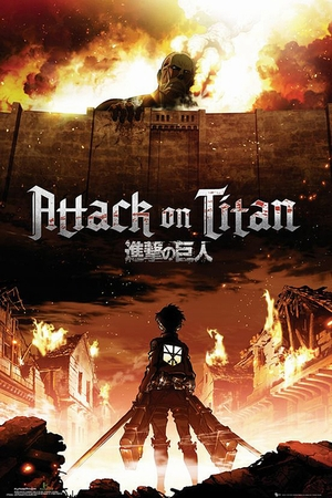 Attack On Titan Poster Manga / Anime