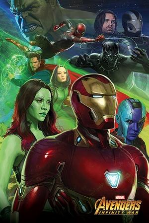 Avengers Infinity War Poster Iron Man
