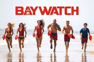 Baywatch Poster Bay Team