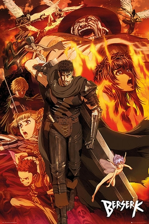 Berserk Poster Collage