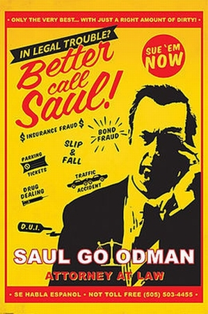 Better call Saul Poster Attorney at Law