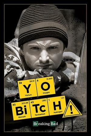 Breaking Bad Poster Yo Bitch! - jesse pinkman - breaking-bad-poster-yo-bitch-jesse-pinkman-kaufen-G862210-2013117101654