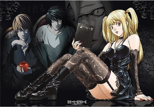 Death Note Poster Misa, L & Light
