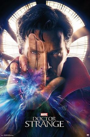 Doctor Strange Poster Benedict Cumberbatch