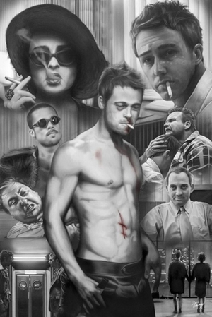 Fight Club Poster Collage