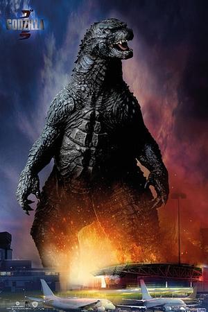 Godzilla Poster Airport