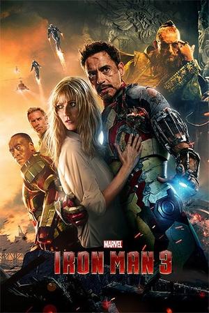 Iron Man 3 Poster Hauptmotiv