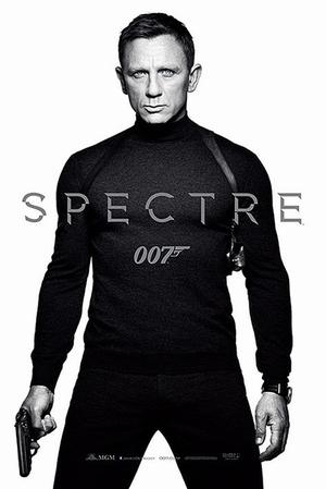 James Bond 007 Spectre Poster White Teaser
