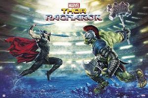 Marvel Thor Ragnarok Battle Poster