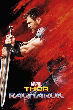 Marvel Thor Ragnarok Teaser Poster