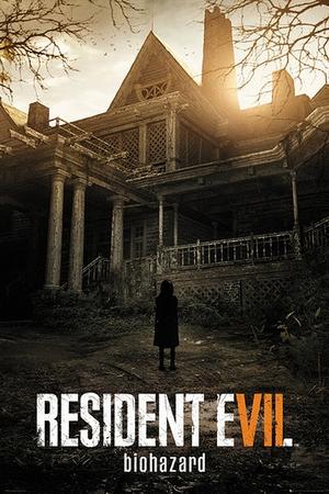 Resident Evil Poster Biohazard Cover Art