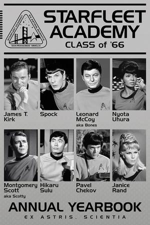 Star Trek Poster Class of 66'