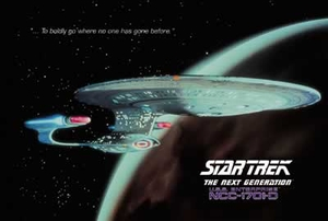 Star Trek Poster USS Enterprise (1701-D)