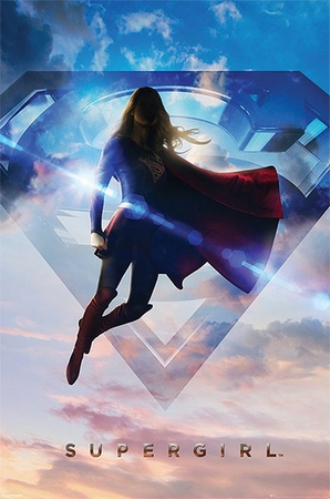 Supergirl Poster - Clouds