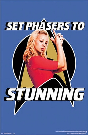 The Big Bang Theory Poster Set Phasers To Stunning!