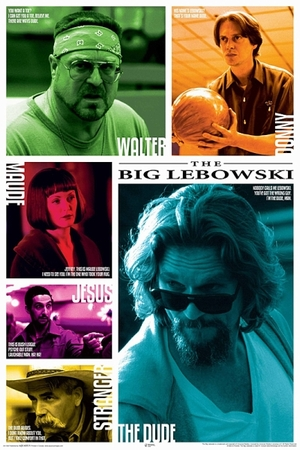 The Big Lebowski Poster Zitate