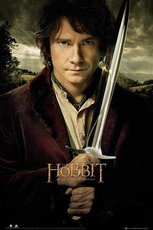 The Hobbit Poster Bilbo und Stich