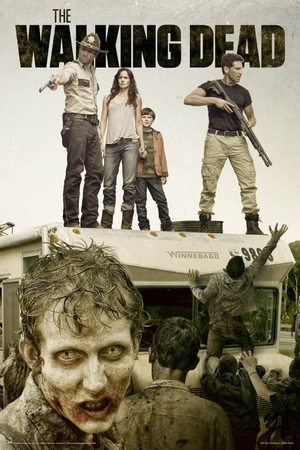 The Walking Dead Poster Season 2