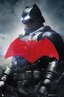 Batman vs Superman Poster Batman rotes Logo