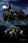 Harry Potter Poster Hogwarts Boats