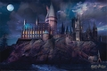 Harry Potter Poster Hogwarts
