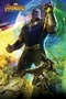 Avengers Infinity War Poster Thanos