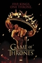 Game Of Thrones Poster Crown Five Kings. One Throne.