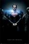 Man of Steel Poster Teaser Handschellen