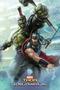 Marvel Thor Ragnarok Thor and Hulk Poster