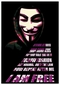 V For Vendetta Poster Maske I am free