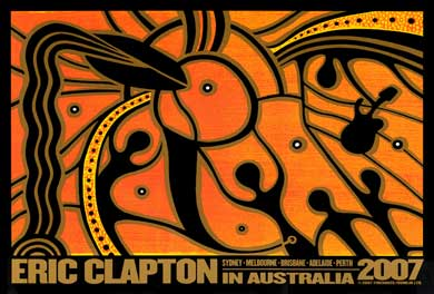 Eric Clapton In Australia