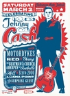 Mini Plakat - Celebrating Johnny Cash