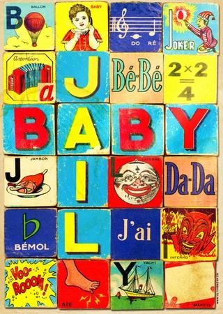 Plakat - Baby Jail Würfelspiel