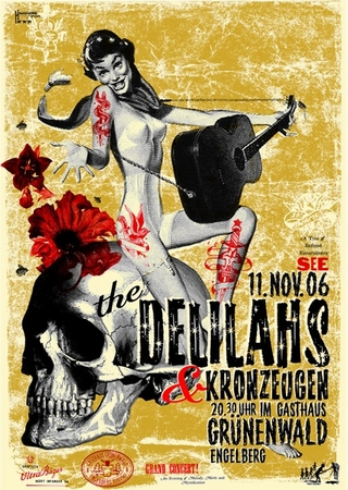Plakat - The Delilahs