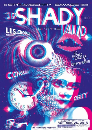 SHADY & THE VAMP PLAKAT