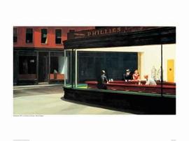 Nighthawks Poster Edward Hopper (Kunstdruck)
