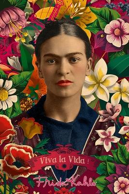 Frida Kahlo Poster Collage Viva La Vida!