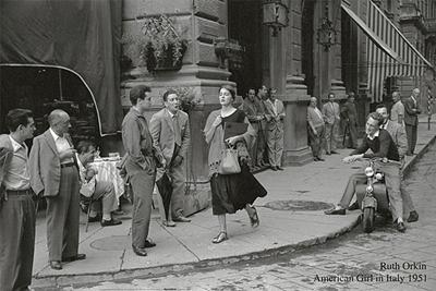 American Girl In Italy, 1951 Roth Orkin Kunstdruck