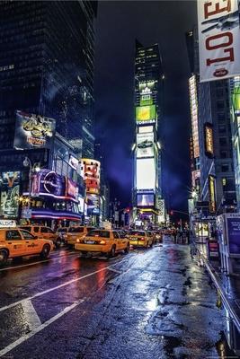New York Timesquare -  Poster Manhattan
