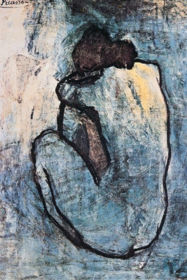 Pablo Picasso - Blue Nude - Poster
