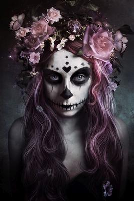 Tag der Toten Poster Tattoo Dia De Muertos