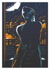 Los Angeles Siebdruck Plakat