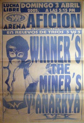 Winners's The Miner's Y Anarkya - Lucha Libre